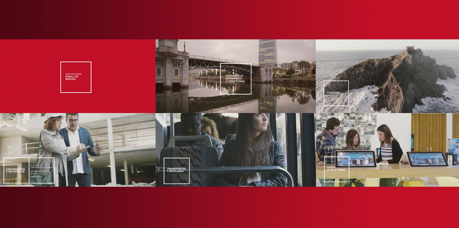 Campaña & Videos Presentación Departamentos DFB
