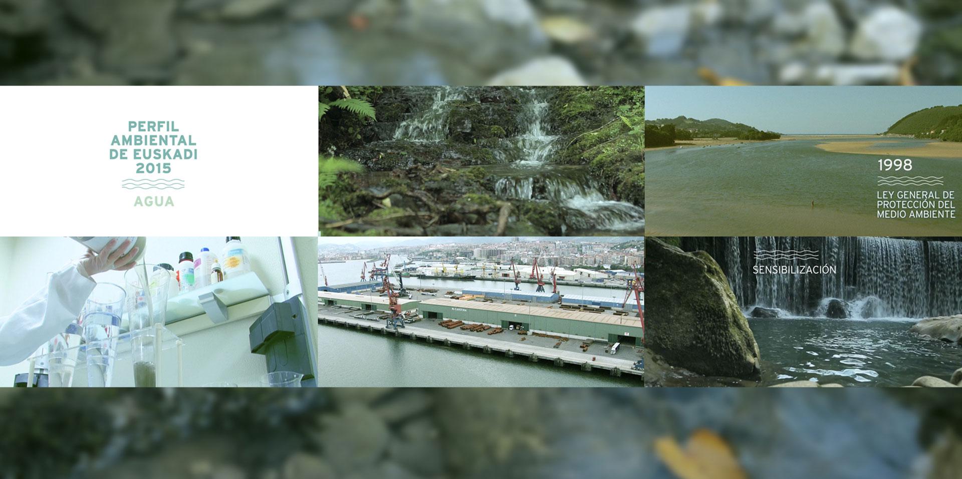 Video Perfil Ambiental del Agua en Euskadi 2015