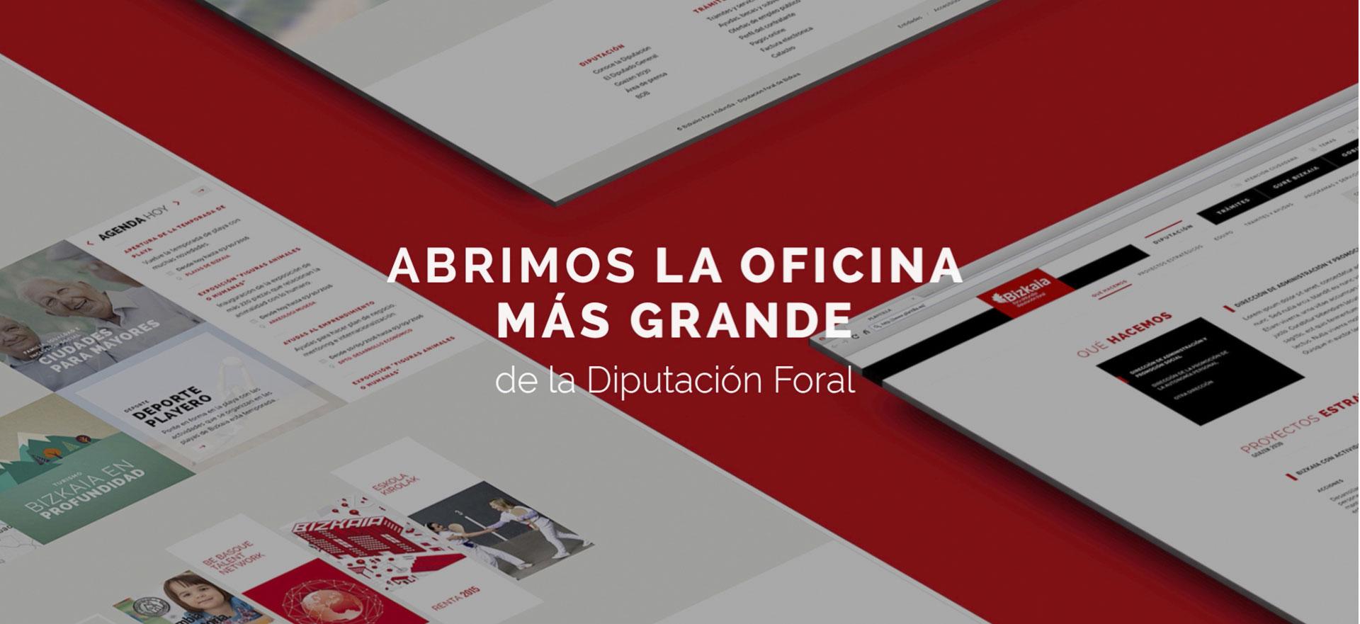 """Spot Animado Presentación Nueva Web """"bizkaia.eus"""""""